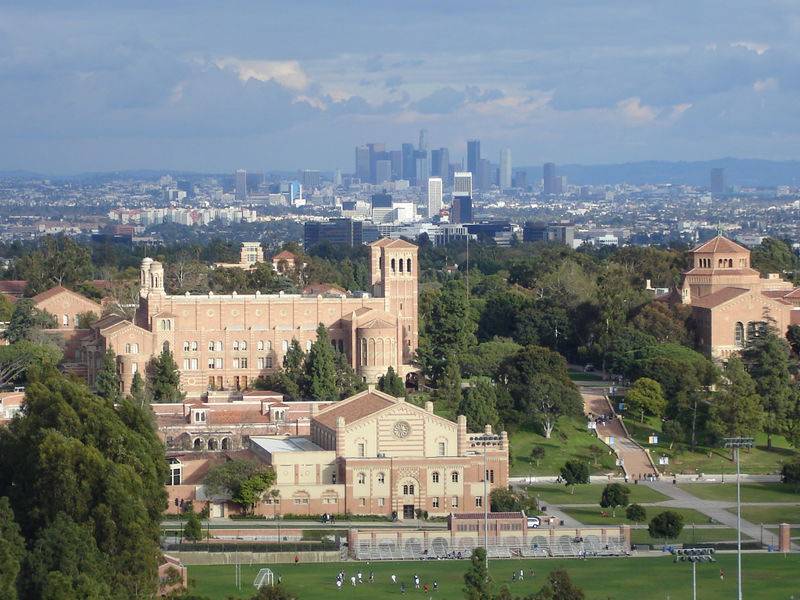 essay about los angeles california